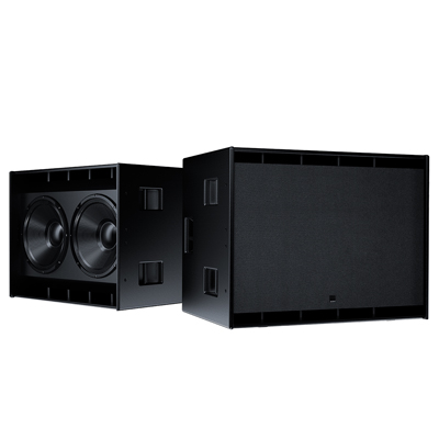 "The new Amadeus ""ML 28 Subwoofer"" featuring dual 18"" speakers"