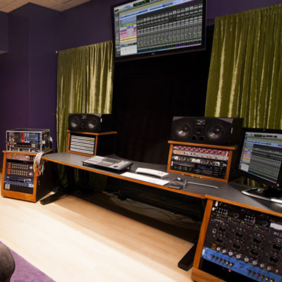 The 'Studio I' at the new Blackbird Academy in Nashville features the Dangerous Music 2-Bus, Monitor ST, Liaison and BAX EQ